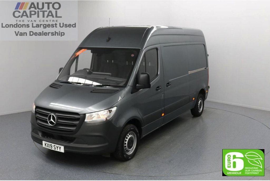 USED 2019 19 MERCEDES-BENZ SPRINTER 2.1 314 CDI 141 BHP L2 H2 MWB Euro 6 Low Emission Finance Available Online | Keyless Go | Auto start/stop