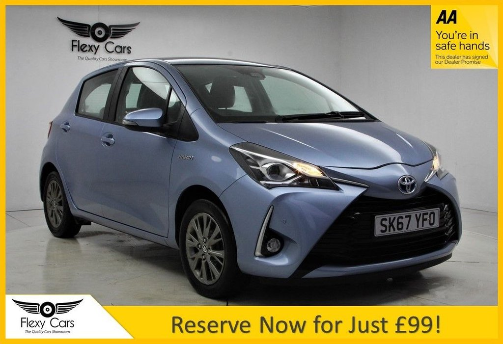 USED 2017 67 TOYOTA YARIS 1.5 VVT-I ICON TECH 5d 73 BHP