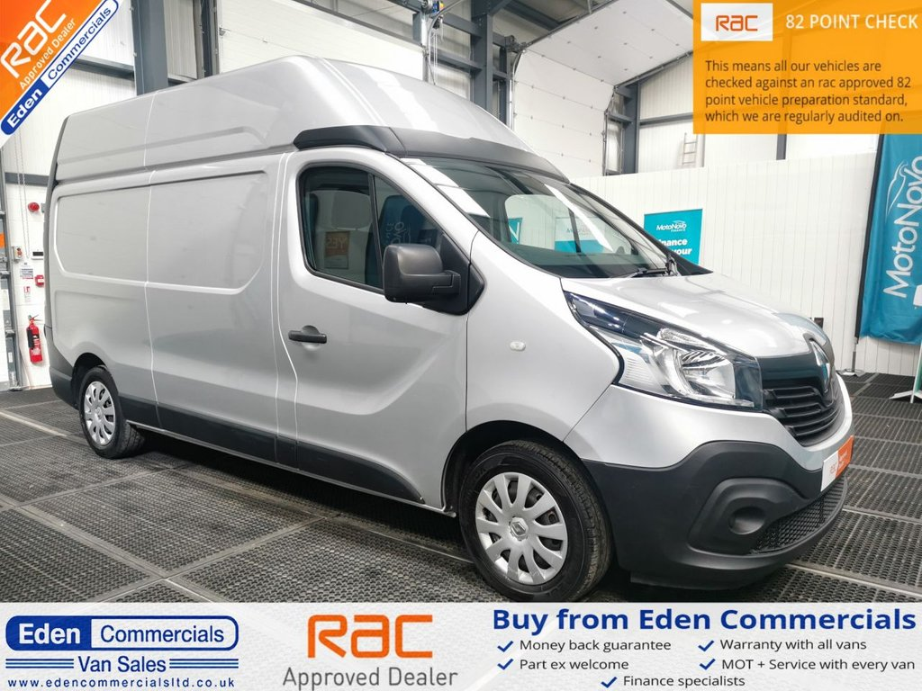 USED 2015 65 RENAULT TRAFIC 1.6 LH29 BUSINESS ENERGY DCI LWB * HIGH ROOF * 120 BHP