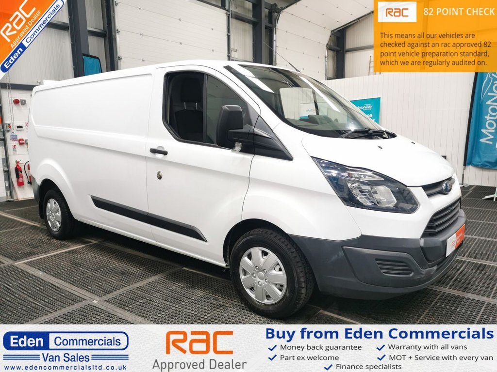 USED 2013 63 FORD TRANSIT CUSTOM 2.2 290 LR * LONG WHEEL BASE *