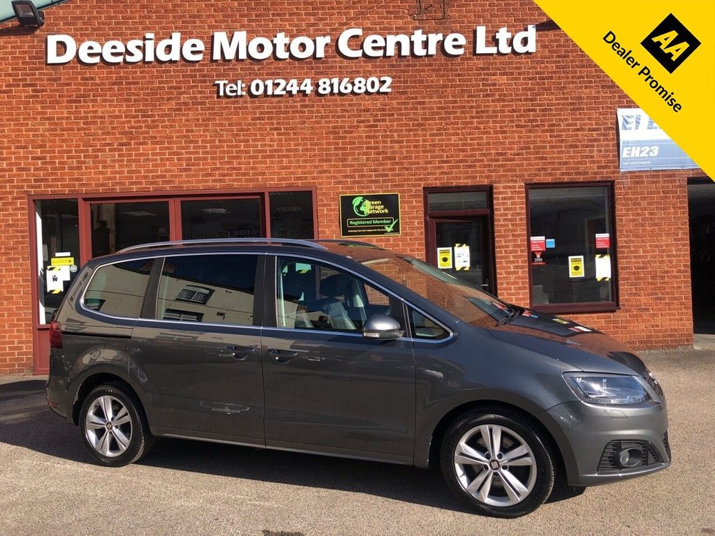 USED 2015 65 SEAT ALHAMBRA 2.0 TDI SE LUX 5d 150 BHP FANTASTIC SPECIFICATION