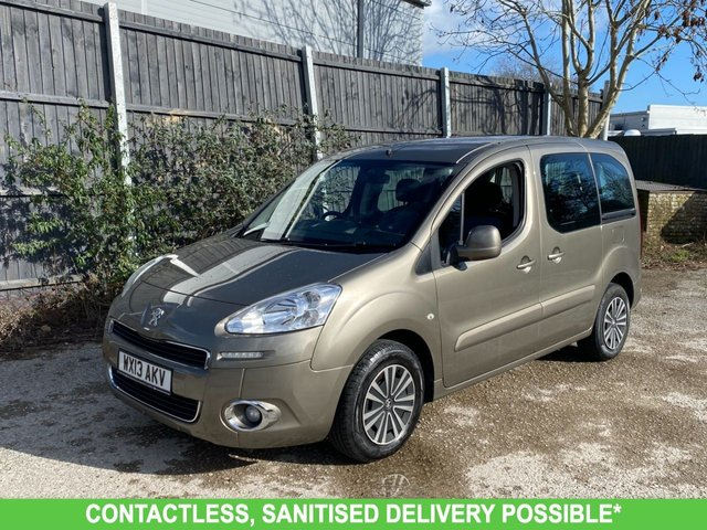 USED 2013 13 PEUGEOT PARTNER 1.6 E-HDI TEPEE S 5d 92 BHP WAV ramp car. DIESEL AUTO.VERY NICE CAR. FINANCE ME TODAY-DELIVERY POSSIBLE PX WELCOME