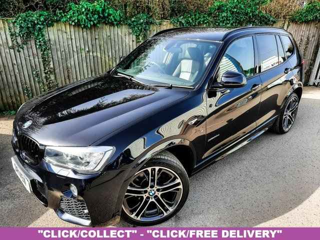 2016 66 BMW X3 3.0 XDRIVE30D M SPORT 5d 255 BHP