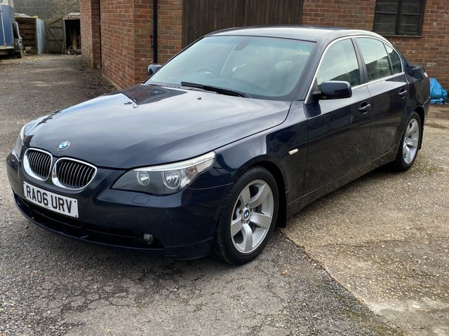 USED 2006 06 BMW 5 SERIES 2.5 525D SE 4d 175 BHP DEALER PART EXCHANGE CAR To clear. GOOD VALUE/GOOD DRIVE DELIVERY POSSIBLE.