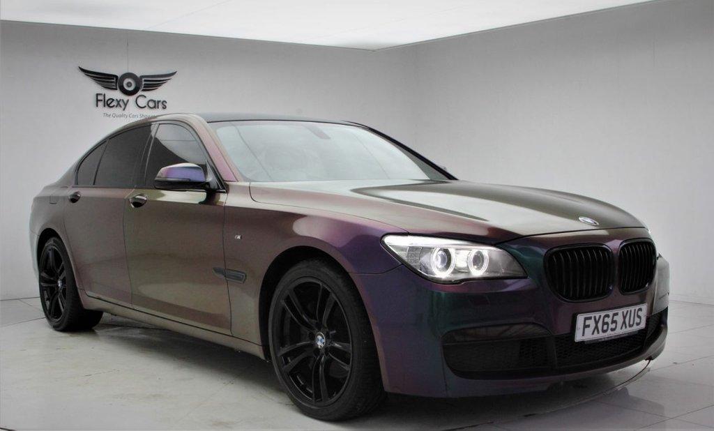 USED 2015 65 BMW 7 SERIES 3.0 730D M SPORT EXCLUSIVE 4d 255 BHP