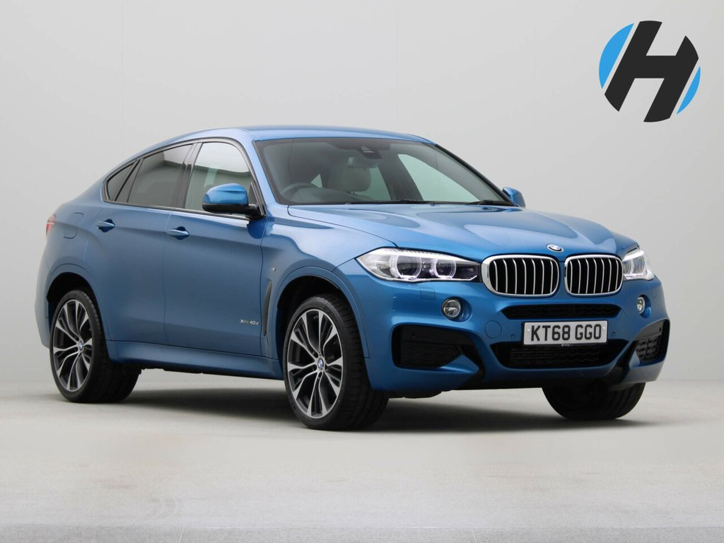 USED 2018 68 BMW X6 3.0 XDRIVE 40D M SPORT EDITION