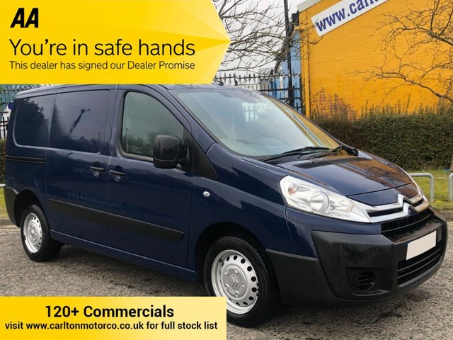 2015 15 CITROEN DISPATCH 1.6 1000 L1H1 HDI 90 [ Air Con+ Cruise ] TWIN SLD