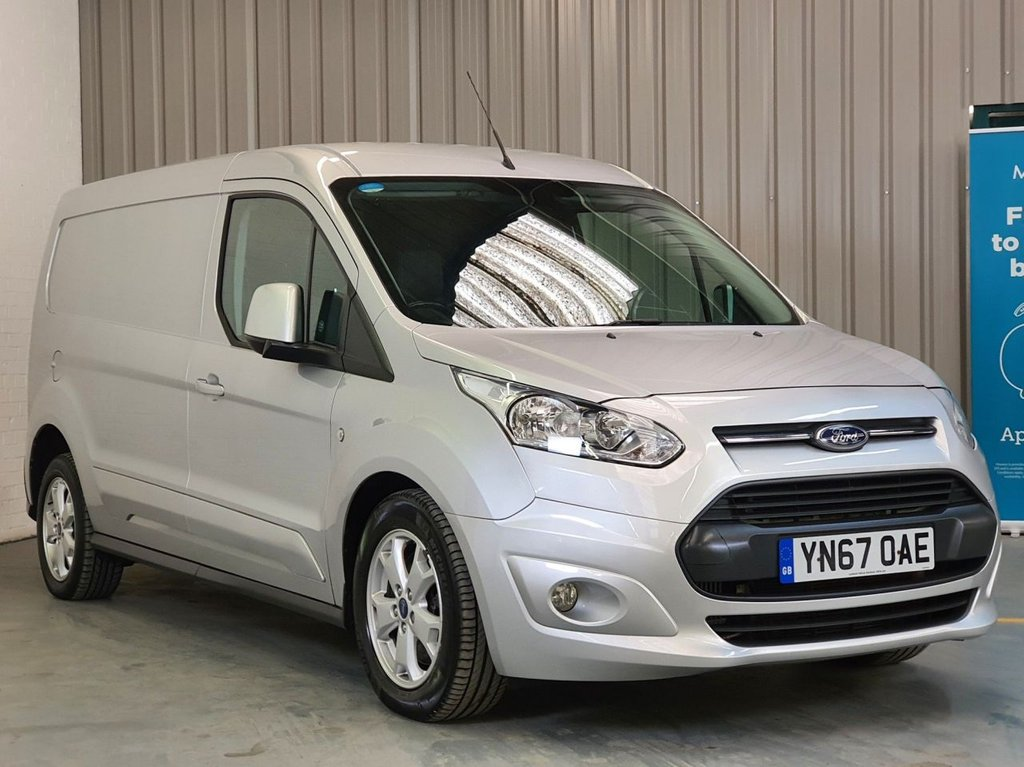 USED 2017 67 FORD TRANSIT CONNECT 1.5 240 LIMITED P/V 118 BHP