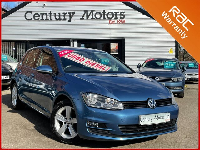 2014 64 VOLKSWAGEN GOLF 1.6 TDI MATCH BlueTech 5dr - PARKING SENSORS
