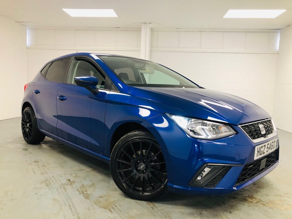 USED 2017 57 SEAT IBIZA 1.0 TSI SE 5d 94 BHP £165 a month, T&Cs apply.