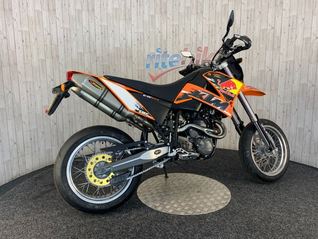KTM SUPERMOTO at Rite Bike