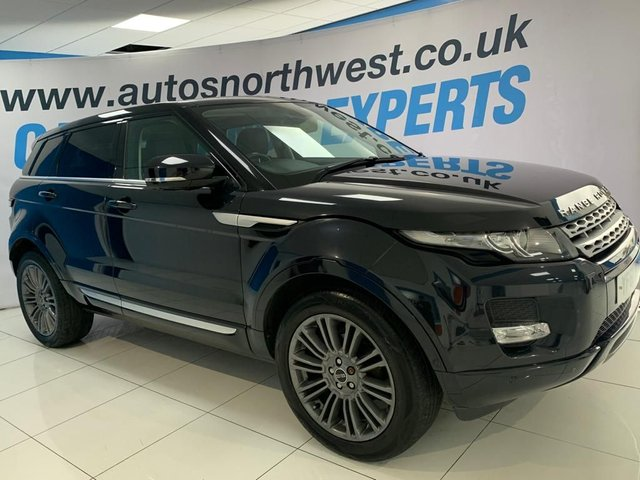 LAND ROVER RANGE ROVER EVOQUE at Autos North West