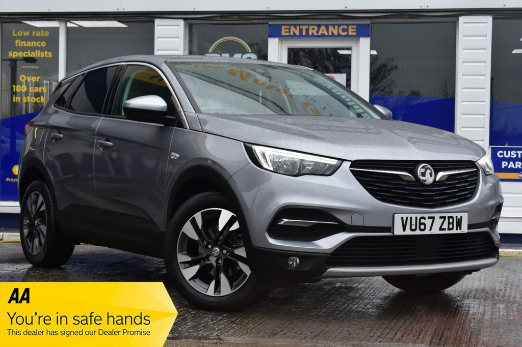 USED 2018 67 VAUXHALL GRANDLAND X 1.2 SPORT NAV S/S 5d 129 BHP AVAILABLE FOR £269 PER MONTH £0 DEPOSIT