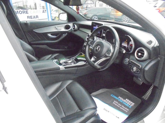USED 2015 15 MERCEDES-BENZ C-CLASS 2.1 C220 BLUETEC AMG LINE PREMIUM 4d 170 BHP **BOOK YOUR TEST DRIVE NOW**
