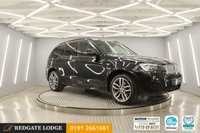 USED 2017 66 BMW X3 3.0 XDRIVE30D M SPORT 5d 255 BHP 1 OWNER, SAT/NAV, HEATED LEATHER, CRUISE, PARKING SENSORS, REVERSE CAMERA, 3 SERVICES, LOW MILES