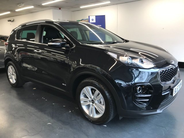 USED 2017 67 KIA SPORTAGE 2.0 CRDI KX-2 5d 134 BHP 1 owner from new, touchscreen satnav, rear camera, privacy glass and much much more