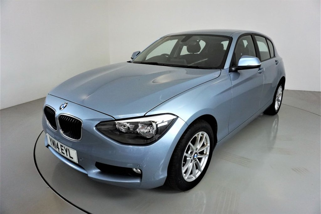 USED 2014 14 BMW 1 SERIES 2.0 120D XDRIVE SE 5d-2 OWNER CAR-RARE LOW MILEAGE XDRIVE-BLUETOOTH-SPEED LIMITER-REAR PARKING SENSORS-AIR CONDITIONING-PUSH BUTTON START
