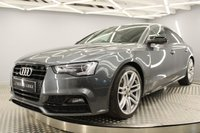 USED 2016 65 AUDI A5 2.0 TDI QUATTRO BLACK EDITION PLUS 5d 187 BHP SAT/NAV, FRONT AND REAR HEATED LEATHER, DAB, BLUETOOTH B&O SOUND SYSTEM, AUTOMATIC, UPGRADED FRESHLY POWDER COATED ALLOYS