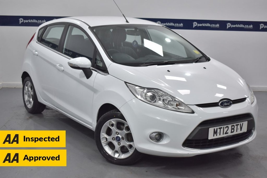 USED 2012 12 FORD FIESTA 1.2 ZETEC 5d 80 BHP (BLUETOOTH PHONE AND MEDIA)