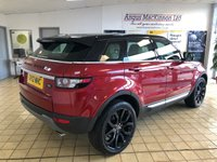 USED 2012 12 LAND ROVER RANGE ROVER EVOQUE 2.2 SD4 PRESTIGE LUX 5d 5 Seat Family SUV 4x4 AUTO Totally Stunning in Firenze Red with Black Roof Black Alloys Panoramic Glass Roof Heated Electric Memory Seats 360 Cameras Park Assist Digital TV Sat Nav DAB Radio plus Full Service History. Recent Service & MOT, New Cambelt, 1 New Tyre & Battery Ready to Drive Away Today 1 Former Keeper + Excellent Service History
