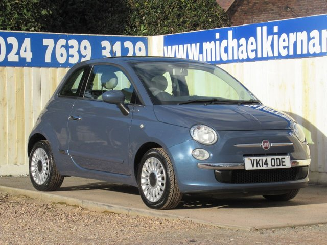 USED 2014 14 FIAT 500 1.2 LOUNGE 3d 69 BHP VERY RARE COLOUR