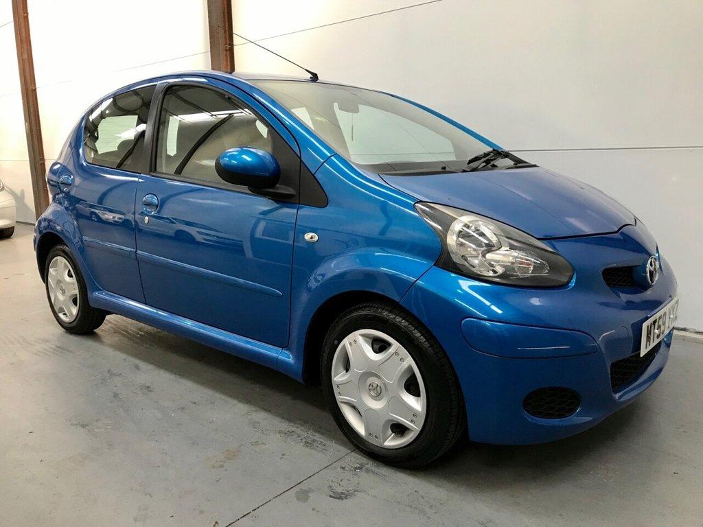 USED 2010 59 TOYOTA AYGO 1.0 BLUE VVT-I 5d 67 BHP Low Mileage, Auto, New MOT,fsh