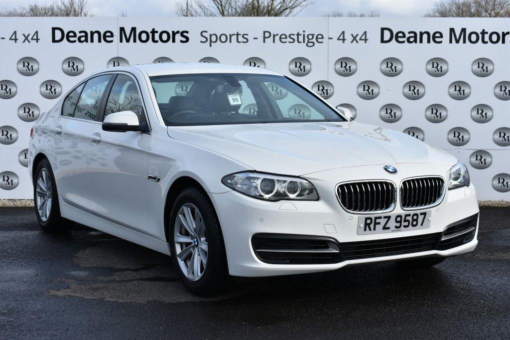 USED 2014 14 BMW 5 SERIES 2.0 520D SE 4d 181 BHP