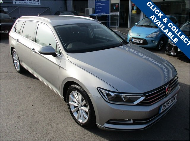 USED 2016 16 VOLKSWAGEN PASSAT 1.6 SE BUSINESS TDI BLUEMOTION TECHNOLOGY 5d 119 BHP