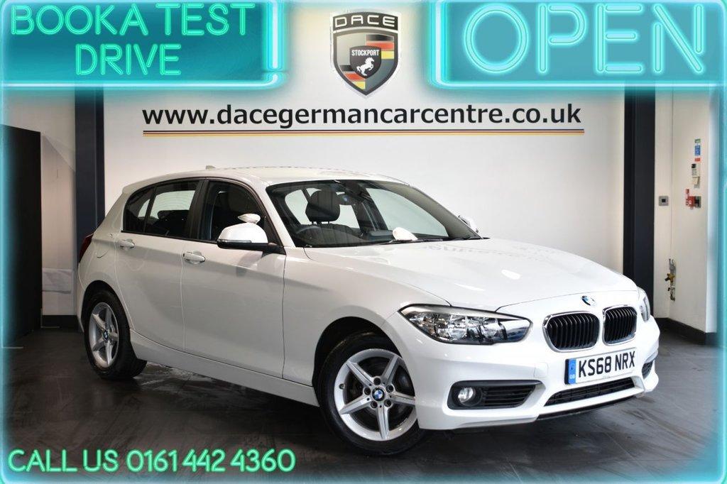 USED 2018 68 BMW 1 SERIES 1.5 118I SE 5DR AUTO 134 BHP