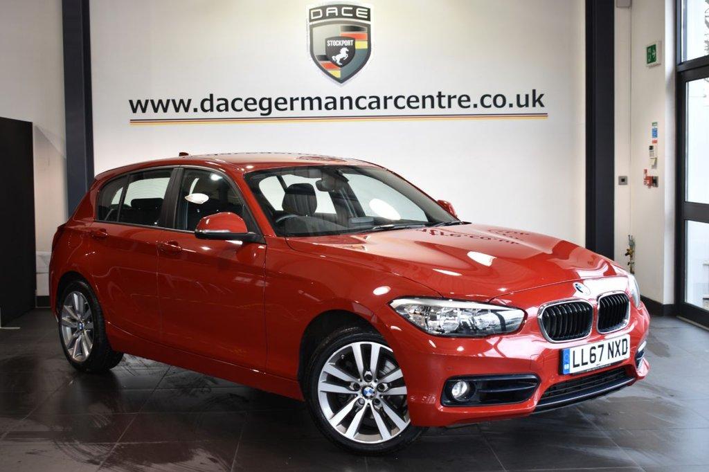 USED 2018 67 BMW 1 SERIES 2.0 120I SPORT 5DR 181 BHP