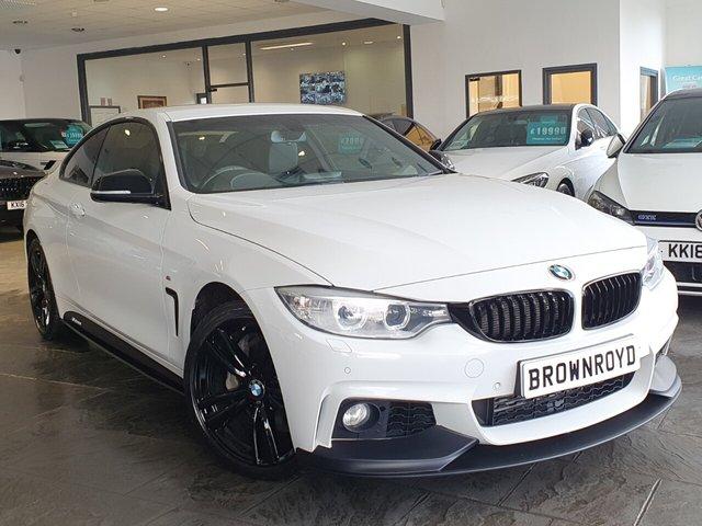 USED 2015 15 BMW 4 SERIES 3.0 435D XDRIVE M SPORT 2d 309 BHP BM PERFORMANCE STYLING+6.9%APR