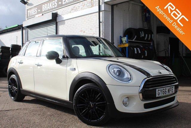 USED 2016 66 MINI HATCH COOPER 1.5 COOPER 5d 134 BHP CHILI PACK VIEW AND RESERVE ONLINE OR CALL 01527-853940 FOR MORE INFO.
