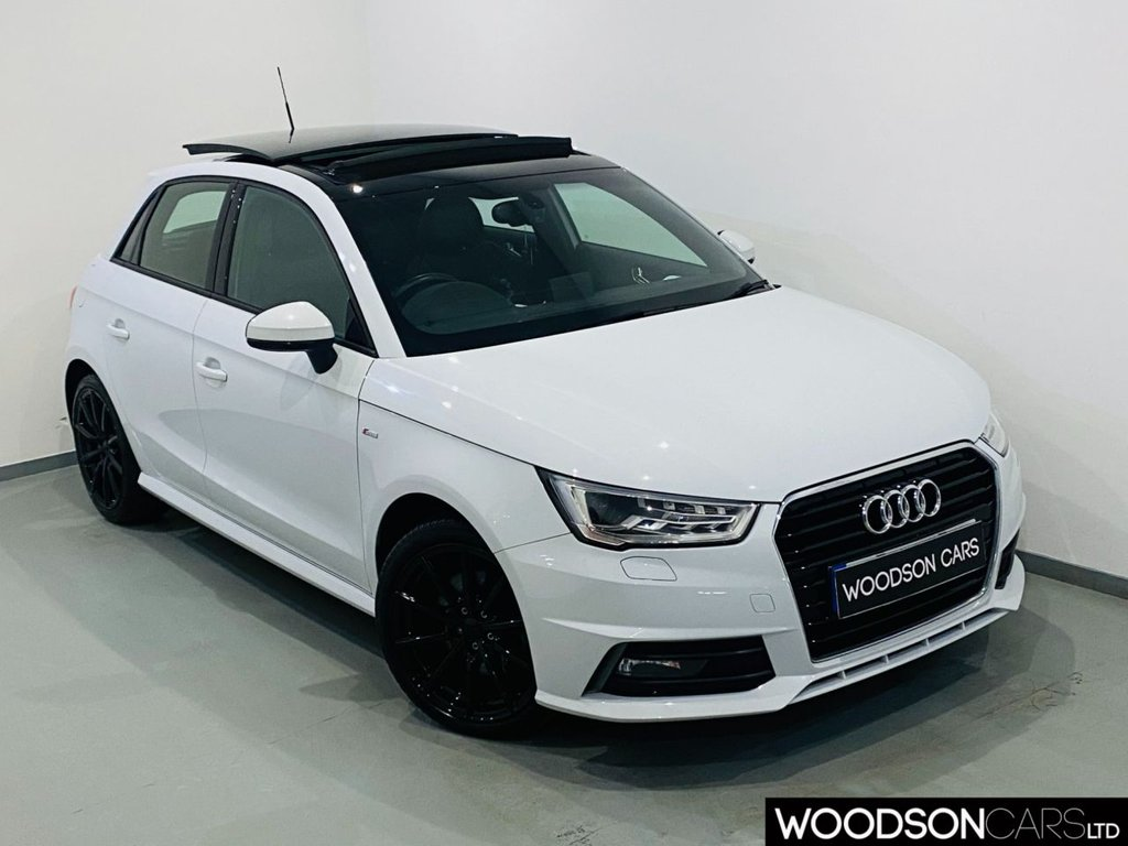 USED 2016 66 AUDI A1 1.6 SPORTBACK TDI S LINE 5d 114 BHP Panoramic Sunroof / Sat Nav / Bluetooth / Black Alloy Wheels / Isofix