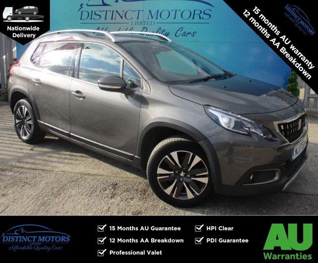 USED 2017 17 PEUGEOT 2008 1.6 BLUE HDI S/S ALLURE 5d 100 BHP