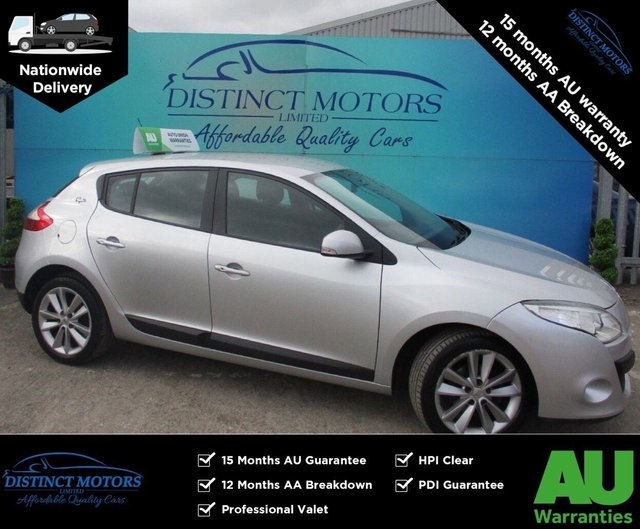 USED 2012 12 RENAULT MEGANE 1.9 I-MUSIC DCI 5d 130 BHP ONLY 58K WARRANTED MILES FROM NEW