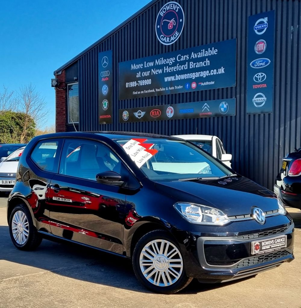 USED 2017 17 VOLKSWAGEN UP 1.0 MOVE UP! 3D 60 BHP I Lady Owner - Low Mileage - £20 RoadTax