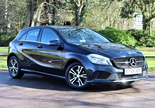 USED 2016 66 MERCEDES-BENZ A-CLASS 1.6 A 180 SE 5d 121 BHP £191 PCM With £1289 Deposit