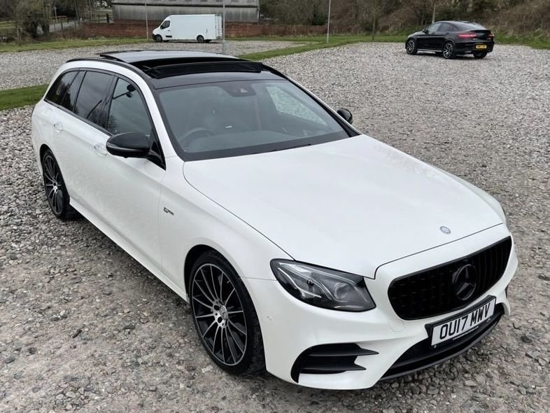 USED 2017 17 MERCEDES-BENZ E-CLASS 3.0 AMG E 43 4MATIC PREMIUM PLUS 5d 396 BHP Free Next Day Nationwide Delivery