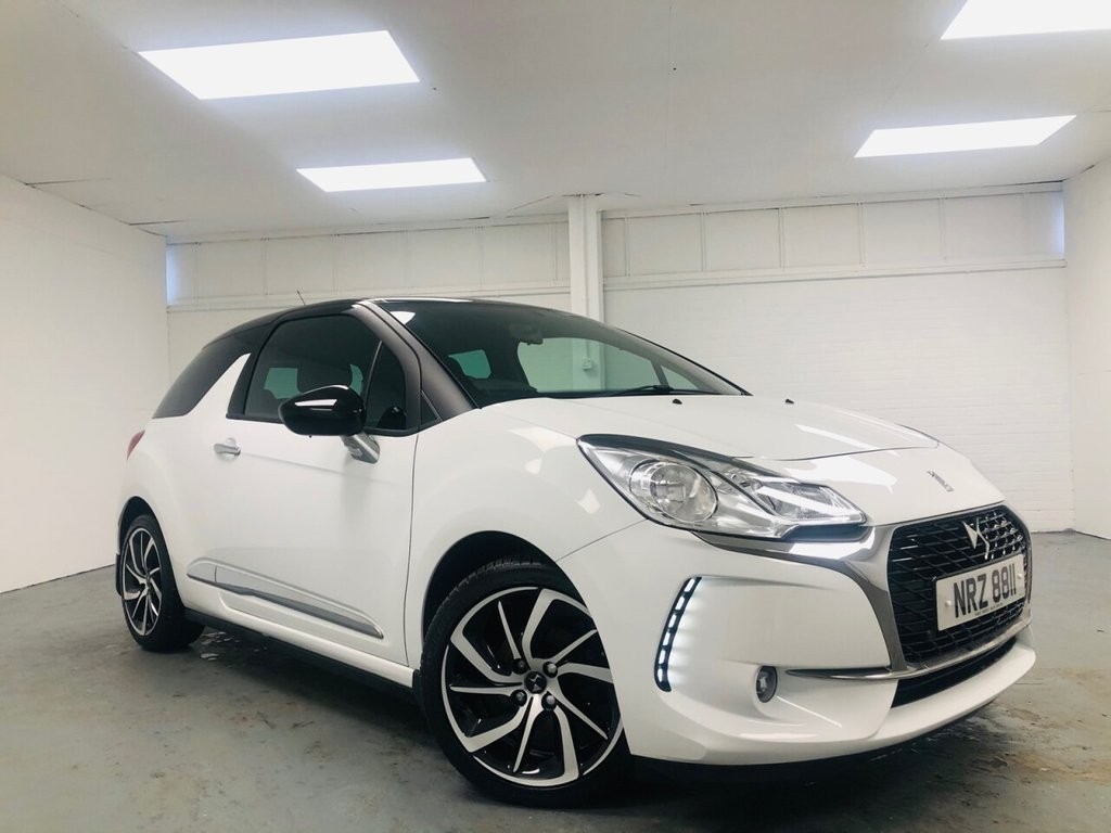 USED 2018 DS DS 3 1.6 BLUEHDI CONNECTED CHIC S/S 3d 98 BHP £210 a month, T&Cs apply.