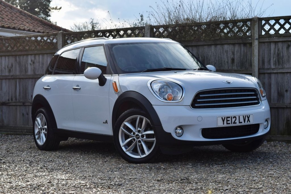 USED 2012 12 MINI COUNTRYMAN 1.6 COOPER D ALL4 5d 112 BHP Free 12  month warranty
