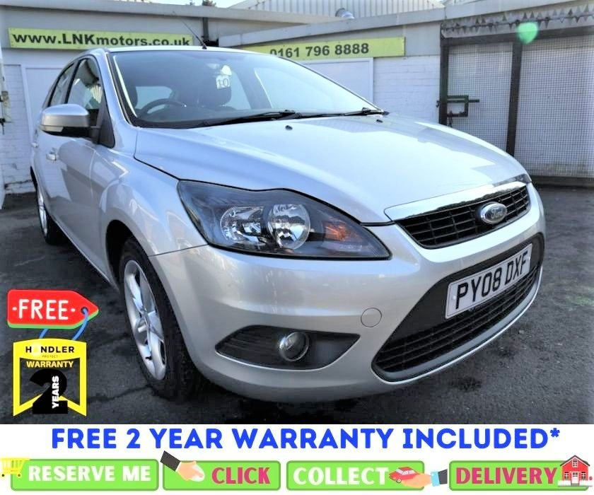 USED 2008 08 FORD FOCUS 1.6 ZETEC 5d 100 BHP *CLICK & COLLECT OR DELIVERY