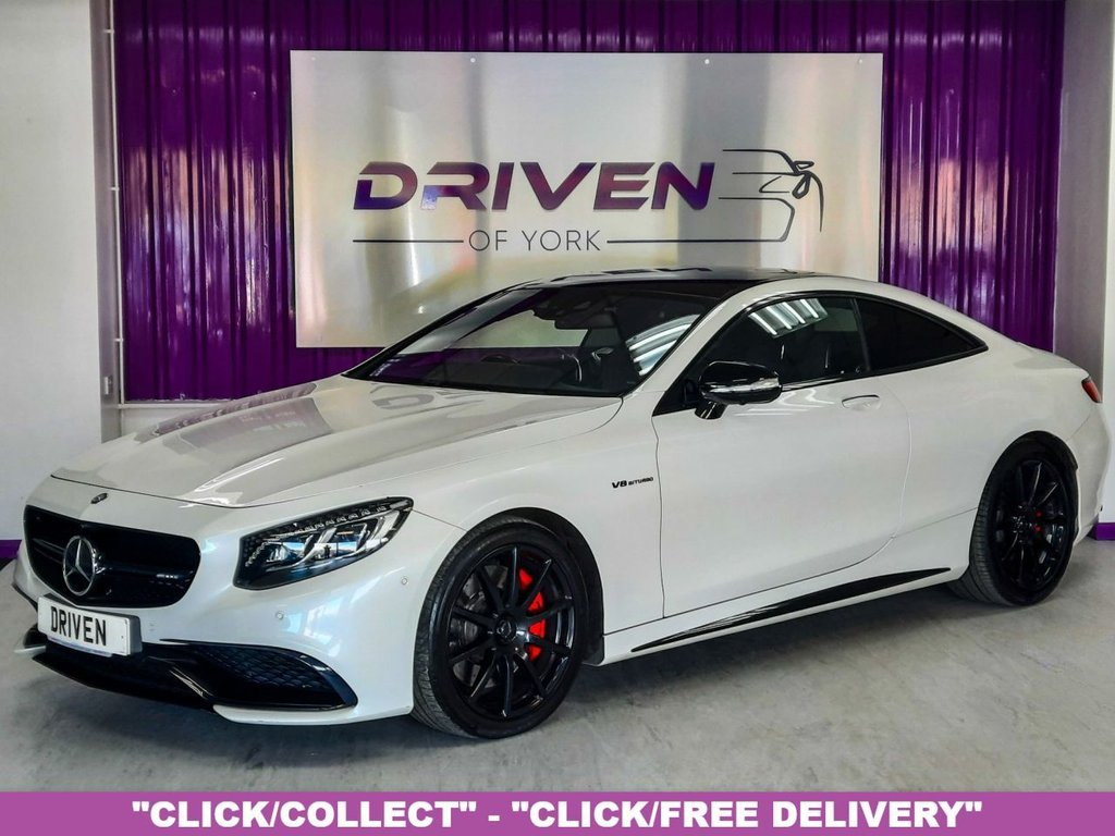 USED 2015 15 MERCEDES-BENZ S 63 AMG S63 V8 AMG 5.5 COUPE