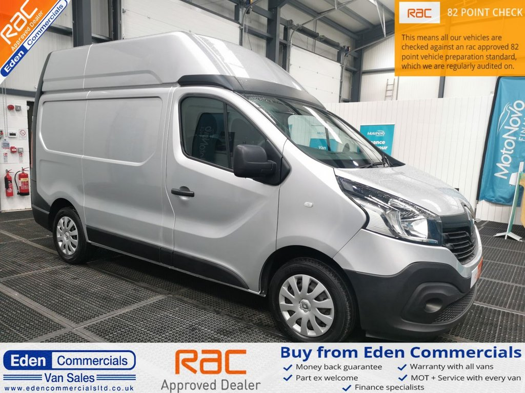 USED 2015 65 RENAULT TRAFIC 1.6 SH29 BUSINESS ENERGY DCI 120 BHP * LWB HIGH ROOF *