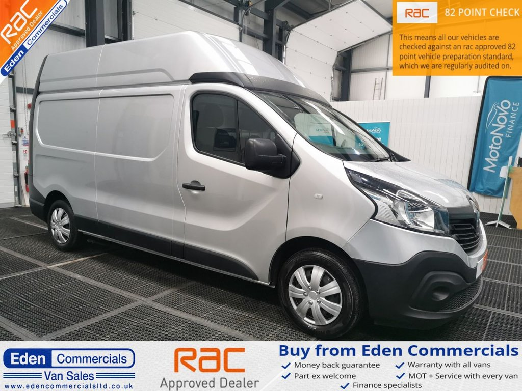 USED 2015 65 RENAULT TRAFIC 1.6 LH29 BUSINESS ENERGY DCI * LWB * HIGH ROOF * 120 BHP