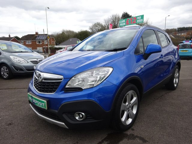 USED 2014 64 VAUXHALL MOKKA 1.6 EXCLUSIV S/S 5d 113 BHP CLICK AND COLLECT ON YOUR NEXT CAR