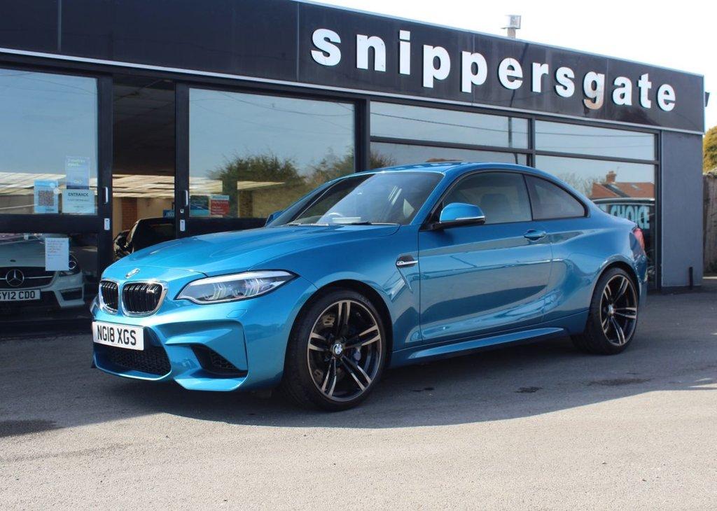 USED 2018 18 BMW M2 3.0 M2 2d 365 BHP