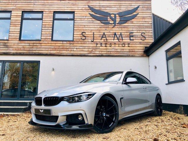 2018 18 BMW 4 SERIES 3.0 430D M SPORT 2d AUTO 255 BHP