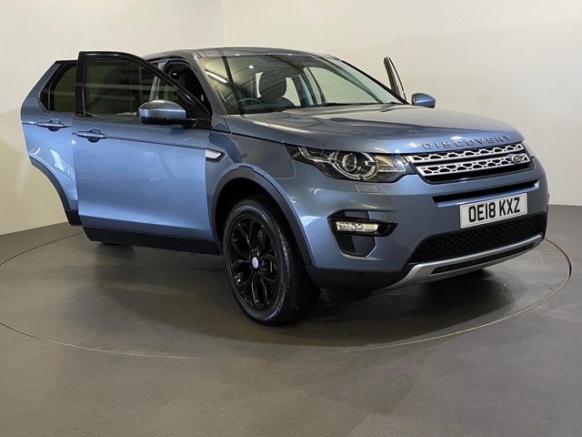 USED 2018 18 LAND ROVER DISCOVERY SPORT 2.0 SD4 HSE 5d 238 BHP 1 owner 19840 miles, Hosting Optional factory extras to complement an already impressive HSE Sport Specification