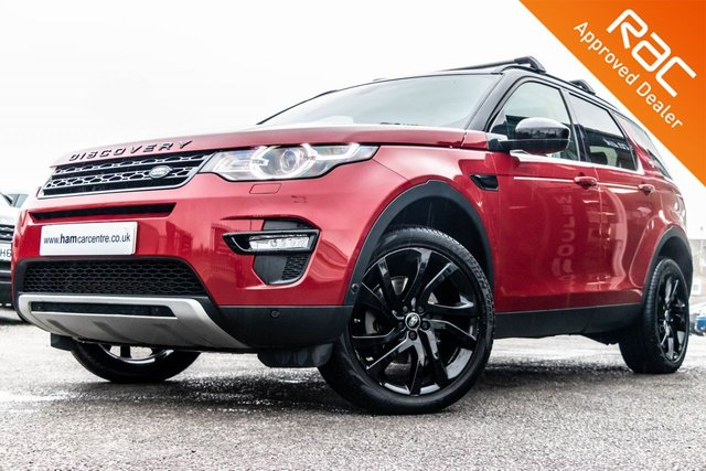 2015 15 LAND ROVER DISCOVERY SPORT 2.2 SD4 HSE LUXURY 5d 190 BHP BLACK STYLING PACK