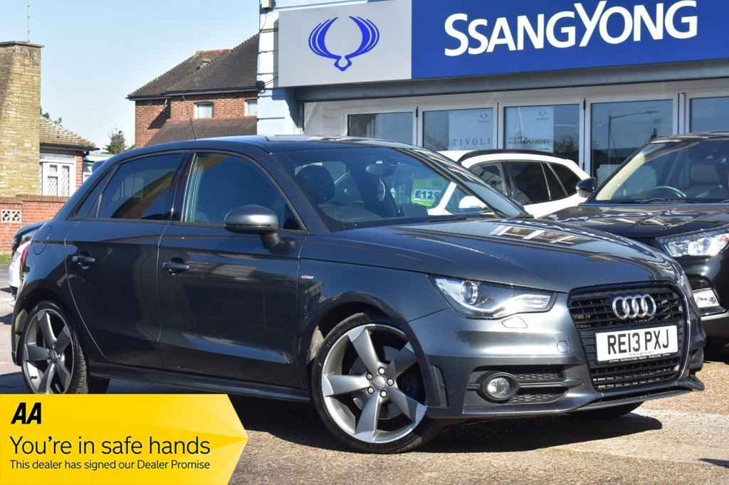 USED 2013 13 AUDI A1 2.0 SPORTBACK TDI BLACK EDITION 5d 141 BHP AVAILABLE FOR £209 PER MONTH £0 DEPOSIT
